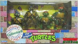 The Original TMNT set