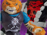 Half-Shell Heroes Tiger Claw & Newtralizer (2014 action figures)