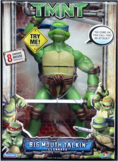 Big Mouth Talkin' Leonardo (2007 action figure)