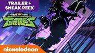 Rise of the Teenage Mutant Ninja Turtles 🗡️ NEW Series OFFICIAL TRAILER w Bonus SNEAK PEEK Nick