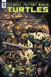 TMNT -72 Retailer Incentive Cover by Kevin Eastman