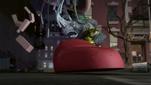 2012 Rocksteady smashes 1987 Krang's android leg