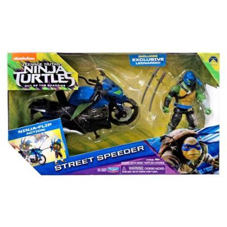 Street Speeder & Leonardo (2016 toy)