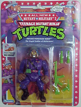 Private Porknose Bebop (1992 action figure)
