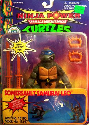 Somersault Samurai Leo (1993 action figure)