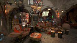 Astonishing-interior-wall-plus-choice-morsels-polyvore-tuesday-tmnt-raphael-art-set
