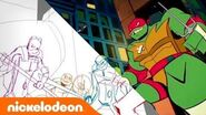Making of 'RISE of the TMNT'!! EXCLUSIVE Look 👀 From Sketch to Screen TurtlesTuesday