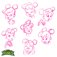 African-American-April-O-Neil-Black-History-Month-Rise-Of-The-Teenage-Mutant-Ninja-Turtles-Behind-The-Scenes-Art-Character-Expressions-Drawings-Guide-TMNT-Nickelodeon-Animation-Tumblr-Nick 1