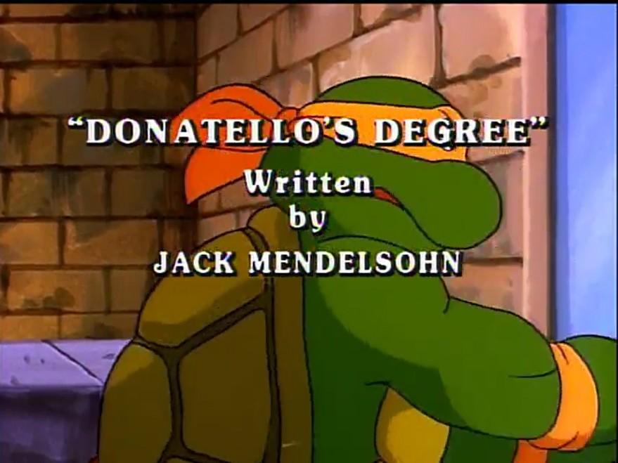 Donatello's Degree