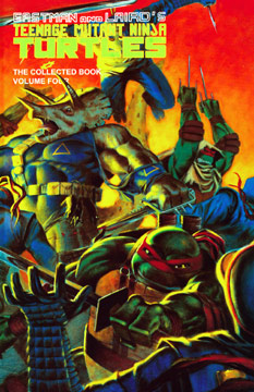 Teenage Mutant Ninja Turtles: The Collected Book 4