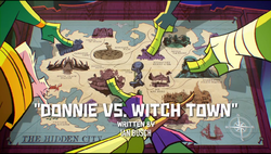 Donnie vs Witch Town titlecard.png