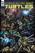 TMNT -80 Subscription Cover by Kevin Eastman
