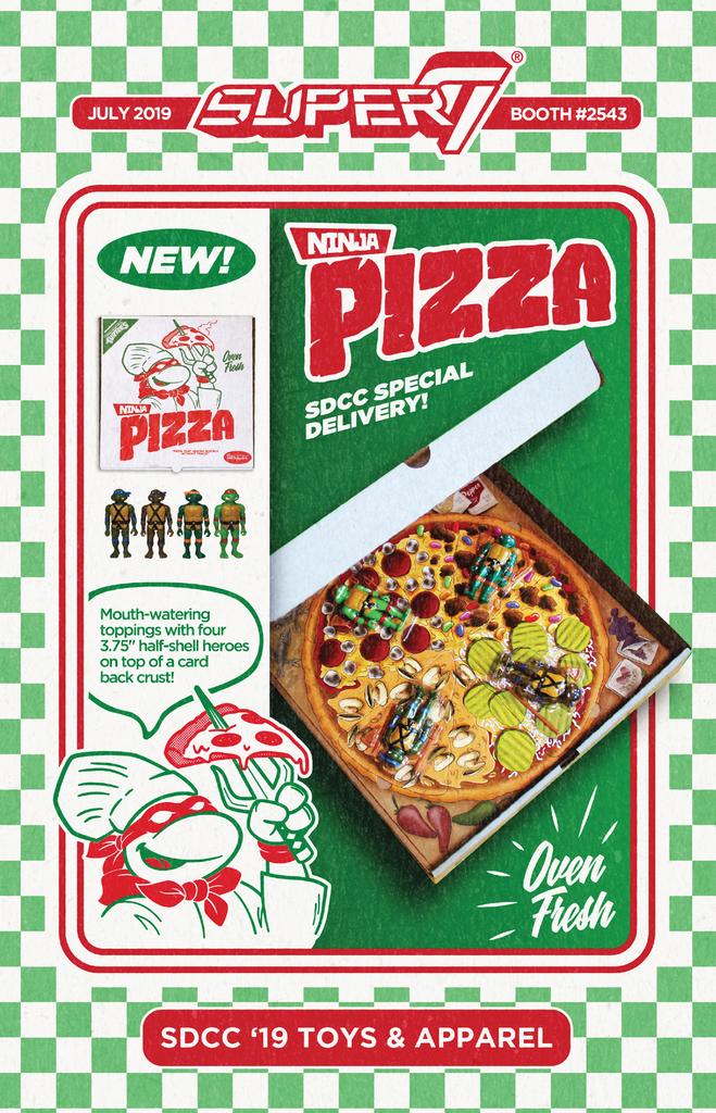 ReAction Ninja Pizza (2019 action figure set)