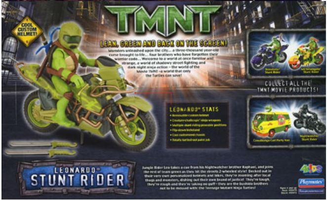 Leonardo Stunt Rider (2007 action figure)