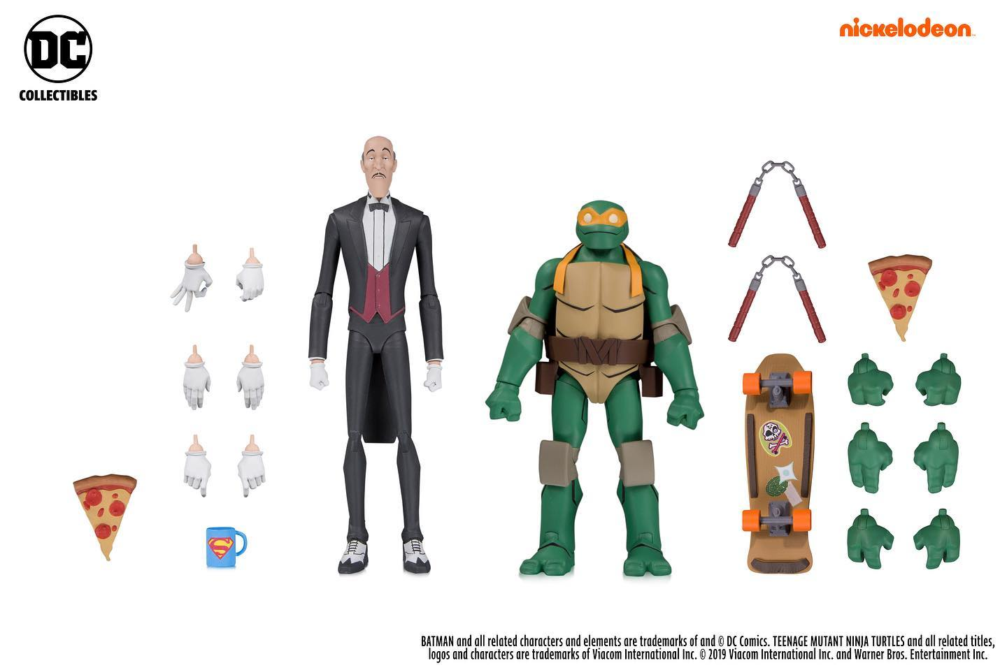Alfred & Michelangelo (2019 action figure set)