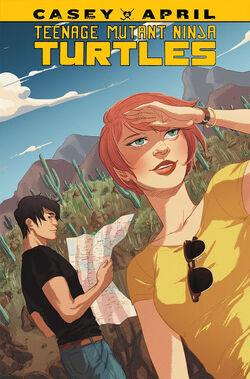 TMNT- Casey & April TPB Cover by Irene Koh.jpg