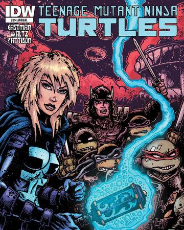 Teenage Mutant Ninja Turtles 2014 Annual Tmntpedia Fandom