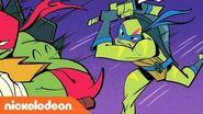 Rise of the Teenage Mutant Ninja Turtles Comics Come to Life 🖍️Part 1 TurtlesTuesday
