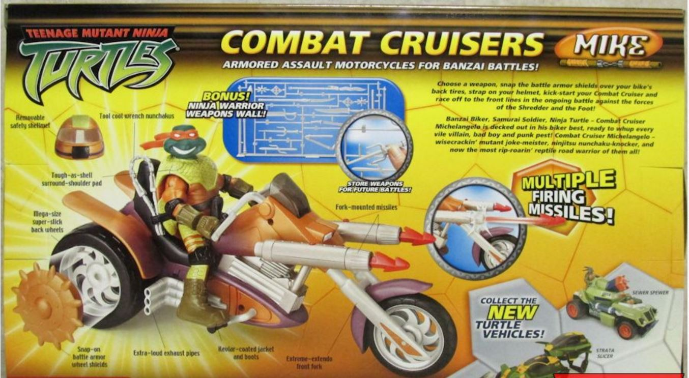 Combat Cruisers Mike (2005 action figure)