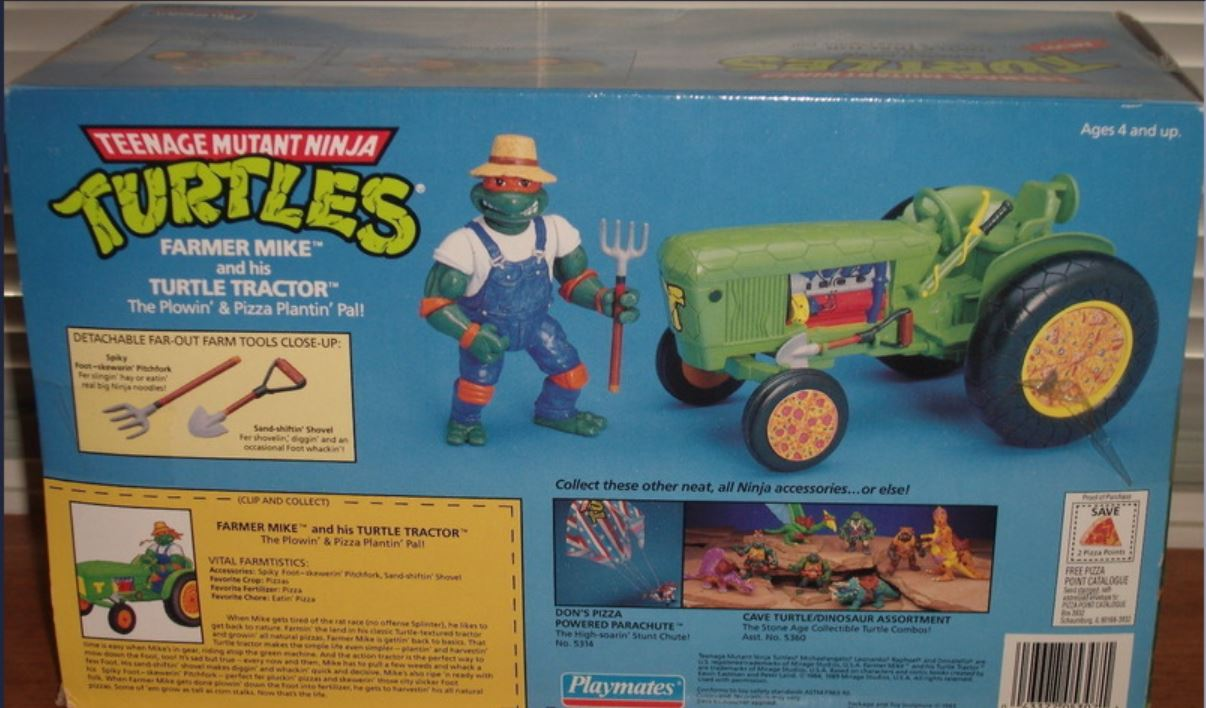 Farmer Mike and his Turtle Tractor (1993 toy)