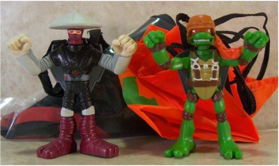 Mini-Mutants Aerial Assault Mike vs. Elite Foot (2009 mini-figures)
