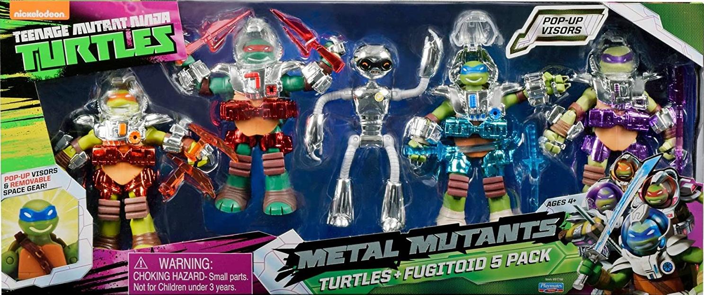 Metal Mutants Turtles + Fugitoid 5 Pack (2015 action figures)