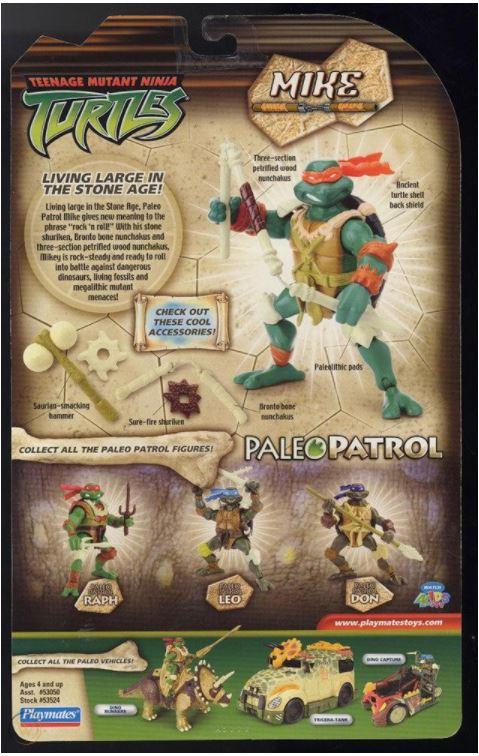 Paleo Patrol Mike (2005 action figure)