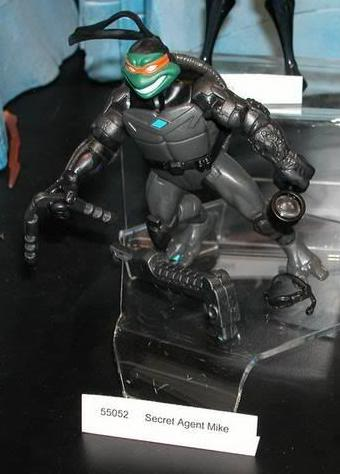 Secret Agent Mike (Unreleased action figure)