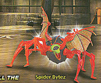 Sub-Sewer Spider Bytez (Unreleased action figure)