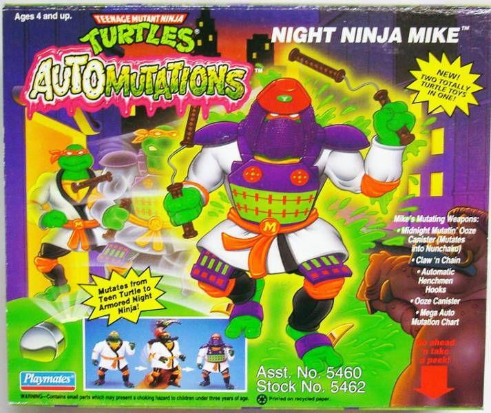 Night Ninja Mike (1993 action figure)
