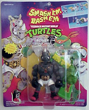 Power Punchin' Rocksteady (1992 action figure)
