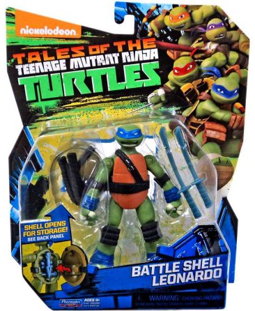 Battle Shell Leonardo (2017 action figure)