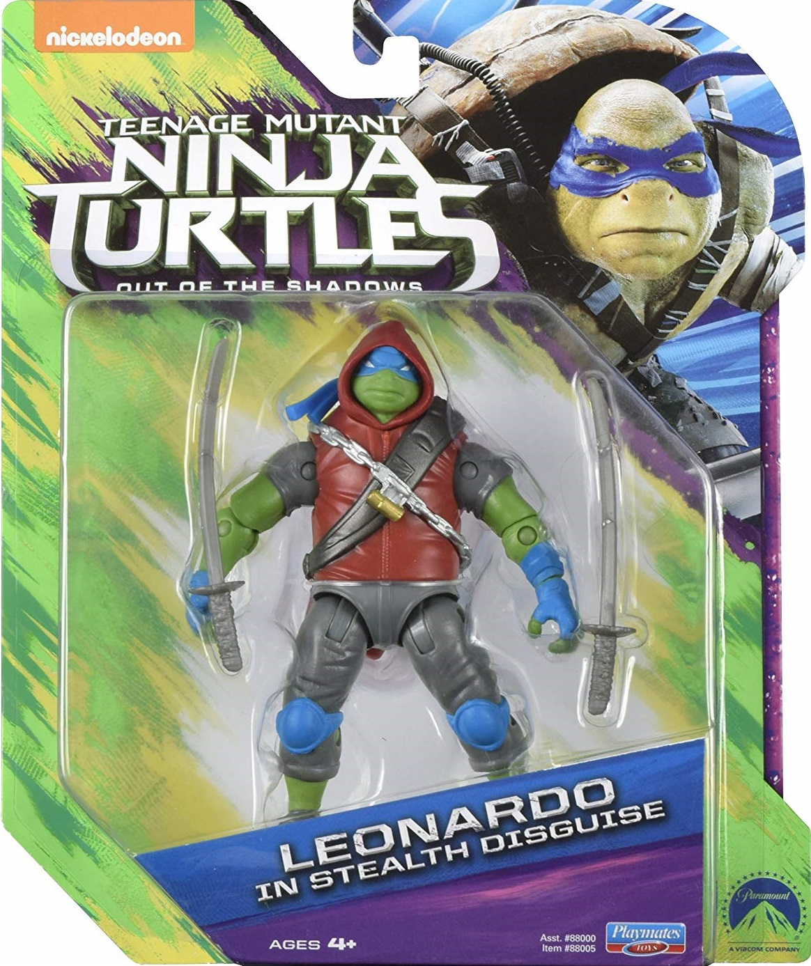 Leonardo Stealth Disguise (2016 action figure)