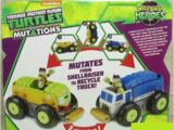 Half-Shell Heroes Mutations Shellraiser to Recycle Truck (2015 toy)