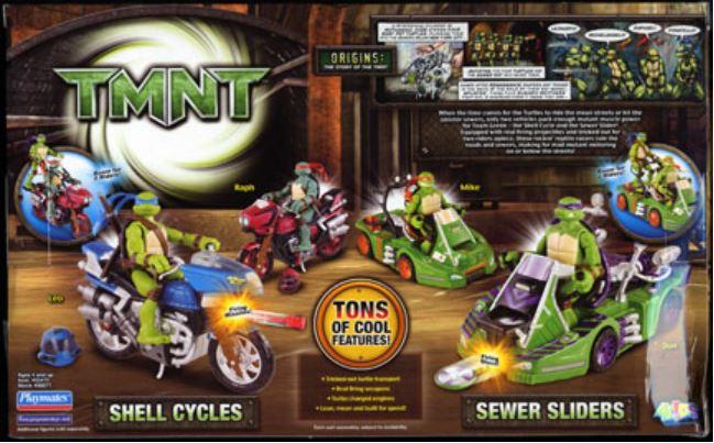 Mini-Mutants Sewer Slider Michelangelo (2008 mini-figures)