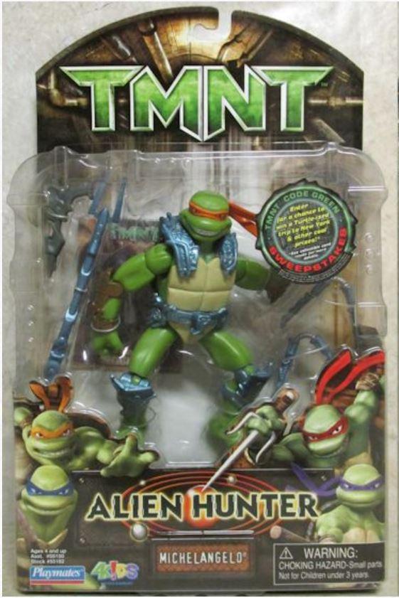 Alien Hunter Michelangelo (2007 action figure)