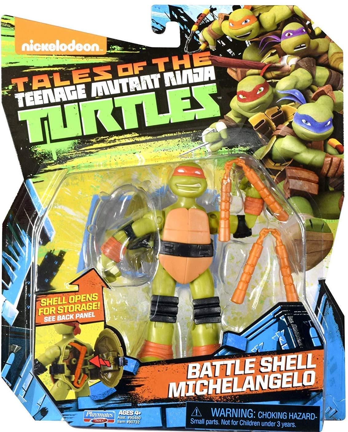 Battle Shell Michelangelo (2017 action figure)