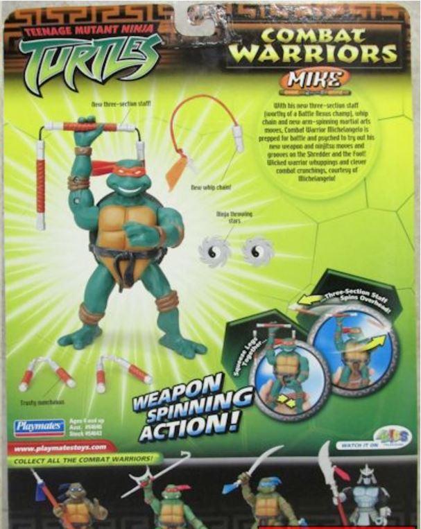 Combat Warriors Mike (2005 action figure)