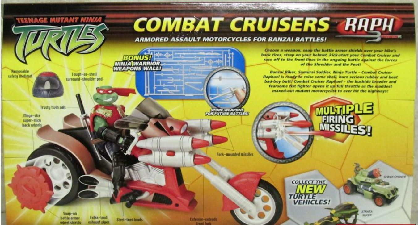 Combat Cruisers Raph (2005 action figure)