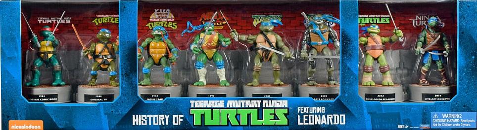 History of Teenage Mutant Ninja Turtles featuring Leonardo