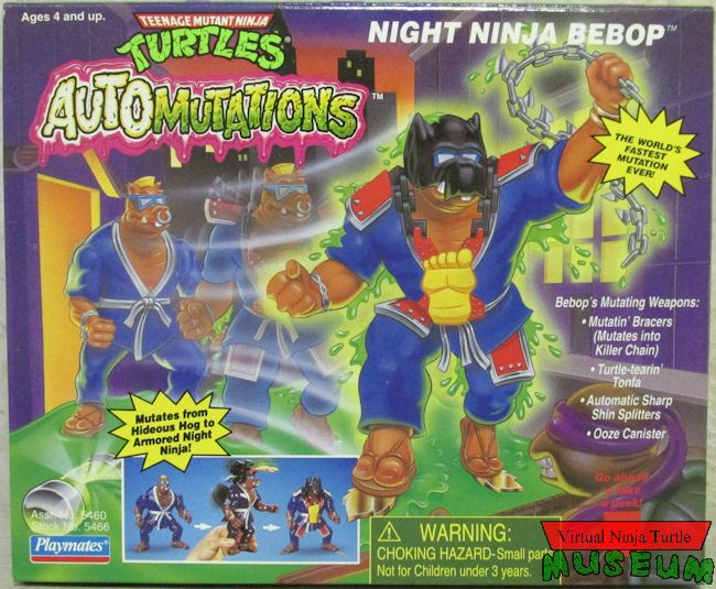Night Ninja Bebop (1993 action figure)
