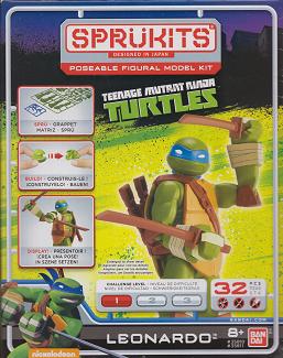 SprüKits Leonardo (2015 action figure kit)