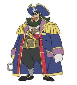 Pirate Captain (TTT&S)