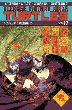 TMNT Vol 17. TPB Cover