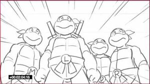 Teenage Mutant Ninja Turtles (Nick Series) 1987 Crossover Sneak Peak-1