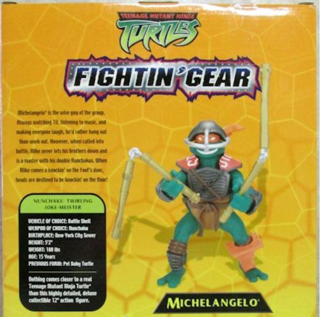 Fightin' Gear Mike (2004 action figure)