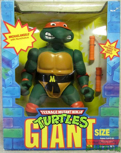 Giant Turtles Michaelangelo (1990 action figure)