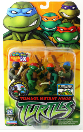 Toddler Turtles (2004 action figures)