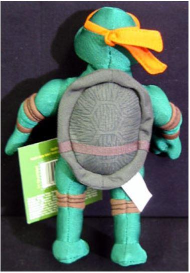 Mini Plush Michelangelo (2004 action figure)