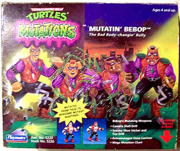Mutatin' Bebop (1992 action figure)